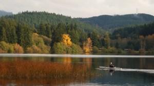 Rowing . . . Lake Padden