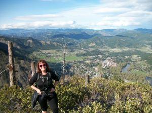 Icicle Ridge Rose - Leavenworth down below