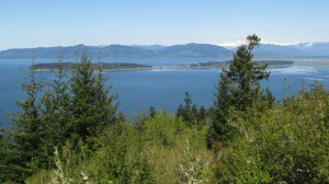 Samish Island, Oyster Dome, Mount Baker . . . from Guemes Mountain