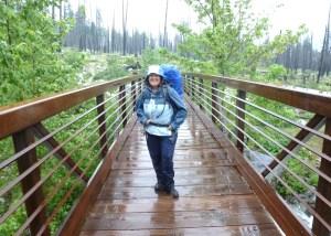 Rain . . . along the trail