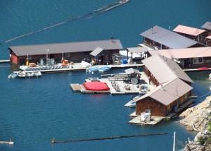 Floating Ross Lake Resort