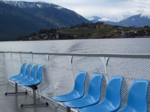 On the ferry from Stehekin to Chelan