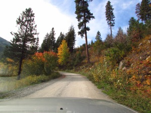 Driving to the trailhead