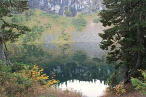 Blue Lake . . . reflections