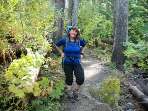 (pic by Kenton Doughty) Along the trail